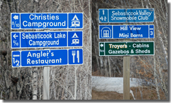 OBDS directional signs- DOT